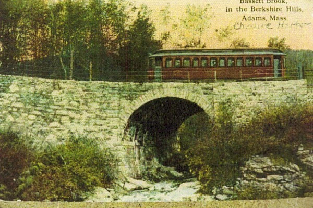 Bassett Brook Trolley Bridge