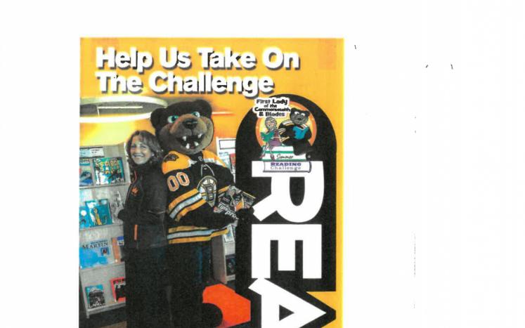 Bruins Challenge Summer Reading Program Flyer